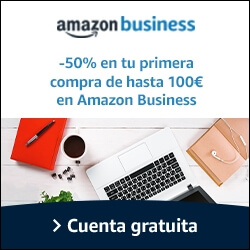 Amazon business 50% de descuento