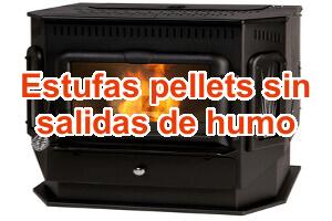 Estufas de pellets econ micas - Estufas sin salida de humos ...